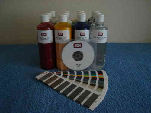 SEM Color Coat Mixing System 12 x 500 ml