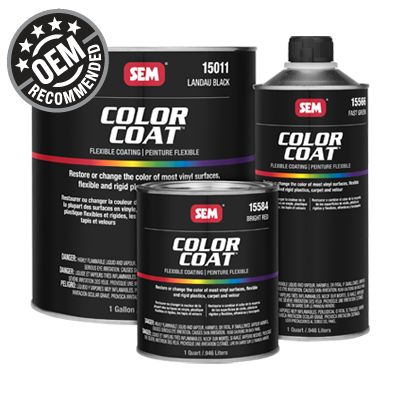 SEM Color Coat Mix Farbe 3,8 L  Low Luster Clear