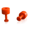 Klebeadapter Set 5 orange FL Ø7mm
